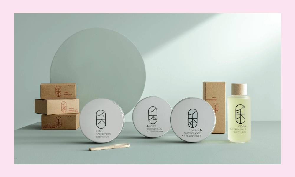 Flat lay con prodotti di Shibui, Raffaella Grisa